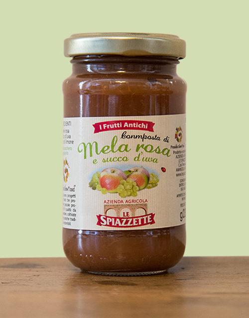 Composta di Mela Rosa e Succo d'Uva
