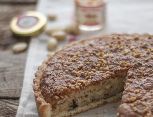 Torta Edwige con Mandorle e Confettura di Mela Rosa